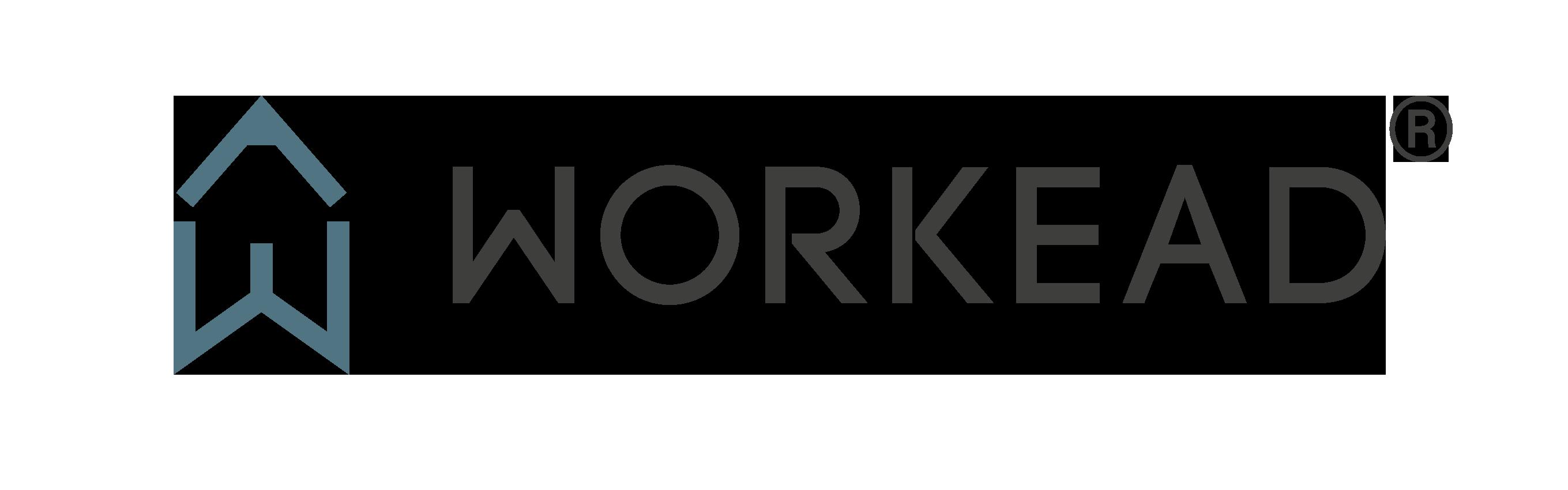 Logo Workead marchio registrato - arredamento e design